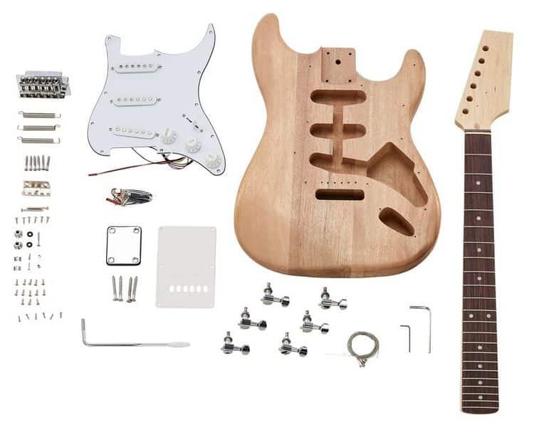Chaque composant influe sur le son des guitares électriques