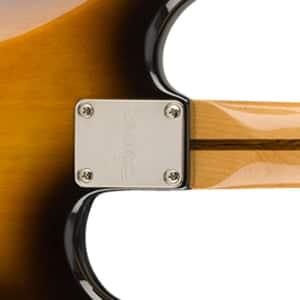 Manche vissé de guitare électrique