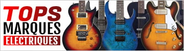 Découvrez nos sélections des meilleures guitares électriques par marque
