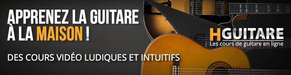 HGuitare : Cours de guitare en ligne