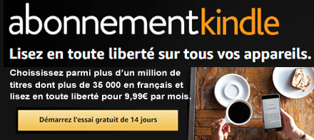 Abonnement Kindle