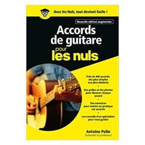 Avis Accords de guitare pour les nuls 3e édition
