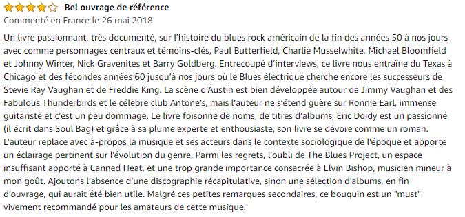 Avis Buried alive in the blues : L'histoire du blues rock américain