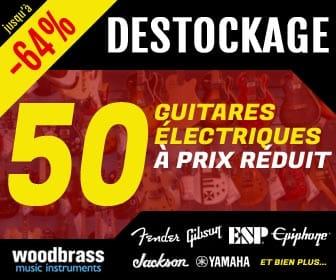 Déstockage guitares électriques Woodbrass