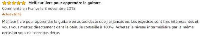 Avis La guitare électrique en autodidacte - Débutant - Thomas Brain