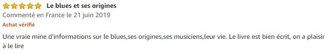 Avis Le Blues - Les musiciens du Diable